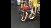 Big Booty Girl Fitness Motivation - Ashley Ortiz Beautiful Fitness Model Gym Workout Routine