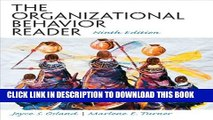 New Book The Organizational Behavior Reader (9th Edition)