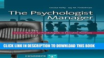 Collection Book The Psychologist Manager: Success Models for Psychologists in Executive Positions
