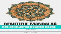 New Book Beautiful Mandalas: 50 Beautiful Mandala Patterns for Deep Relaxation (beautiful mandala,