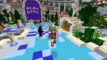 Minecraft Little Kelly   Block Party   WOOO DANCE PARTY!