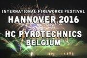 Int. Fireworks Festival Hannover 2016: HC Pyrotechnics - Belgium - Feuerwerk