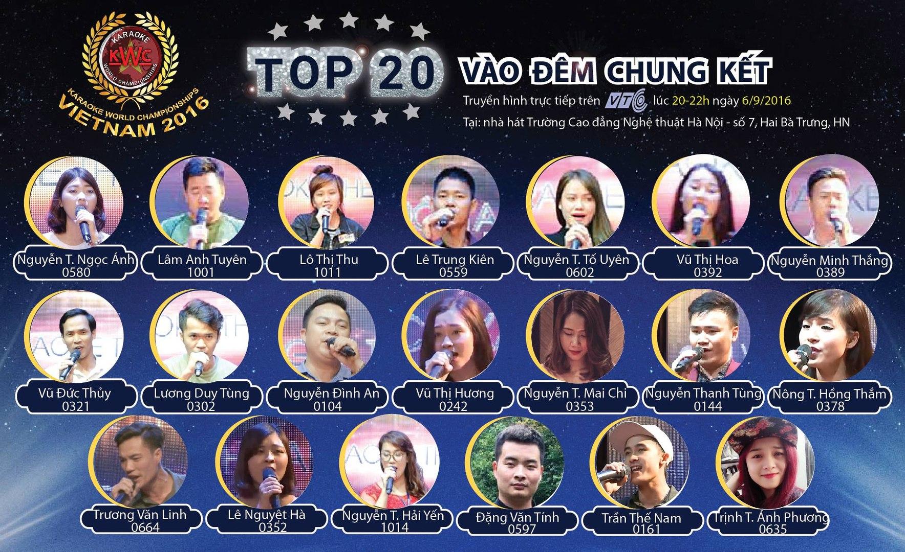 Trực tiếp Chung kết Karaoke world championships Vietnam 2016