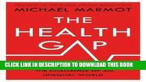 Collection Book The Health Gap: The Challenge of an Unequal World