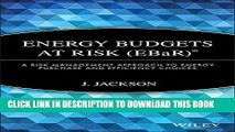 [PDF] Energy Budgets at Risk (EBaR): A Risk Management Approach to Energy Purchase and Efficiency