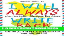[Read] I Will Always Write Back: How One Letter Changed Two Lives Ebook Free