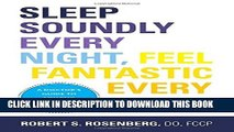 Collection Book Sleep Soundly Every Night, Feel Fantastic Every Day: A Doctor s Guide to Solving