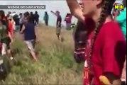 Violences contre des manifestants écologistes sur un Pipeline aux Etats Unis