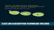[PDF] User Interface Design of Electronic Appliances Full Collection
