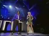 Michael Jackson And Britney Spears live