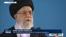 Iran's Khamenei accuses Saudis of 'murdering' hajj pilgrims