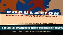 [Reads] Population Health Management: Strategies to Improve Outcomes Online Books