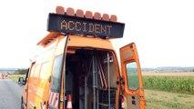 Accident mortel près d'Avion