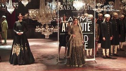 Pregnant Kareena Kapoor Walks With Full Baby Bump At Lakme Fashion Week 2016