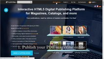 Online Publishing Solution to Make Interactive Digital Publications