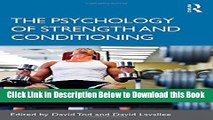 [Reads] The Psychology of Strength and Conditioning Free Books