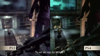 Batman   Return To Arkham - Annonce de la sortie et comparatif PS4/PS3 de Batman : Return To Arkham
