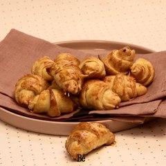 Mini croissants au jambon express !