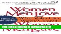 [PDF] Women Men Love, Women Men Leave: What Makes Men Want to Commit? Full Online