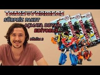 Transformers Sürpriz Paketleri Açmaya Devam Ediyoruz...