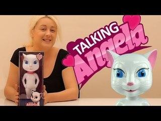 Konuşan Kedi Talking Angela Oyuncağını İnceledik.