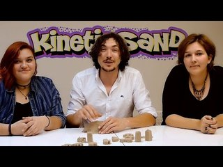 Kinetik Kum (Kinetic Sand) Oyun Hamuru İle Oynadık...