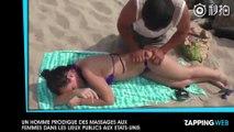 Un homme prodigue des massages aux femmes dans les lieux publics aux Etats-Unis (vidéo)