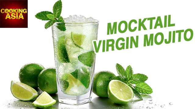 How To Make Mocktail Virgin Mojito | Cooking Asia