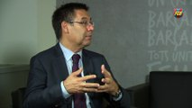 """Bartomeu: """"We want to have a women's football team in the United States"""""""