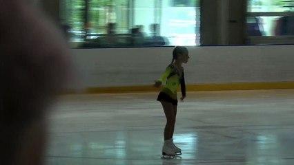 2016 Sask Skate Invitational & Sask Open Singles Competition- Pre-Juvenile Woman U11 Free Program Grp 1 & 2