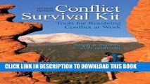 [PDF] Conflict Survival Kit: Tools for Resolving Conflict at Work (2nd Edition) Full Collection