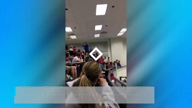 Student nails impossible shot in chemistry class, becomes campus hero