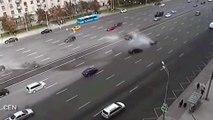 Rusya Devlet Başkanı Vladimir Putin'in makam aracı kaza yaptı: 1 ölü