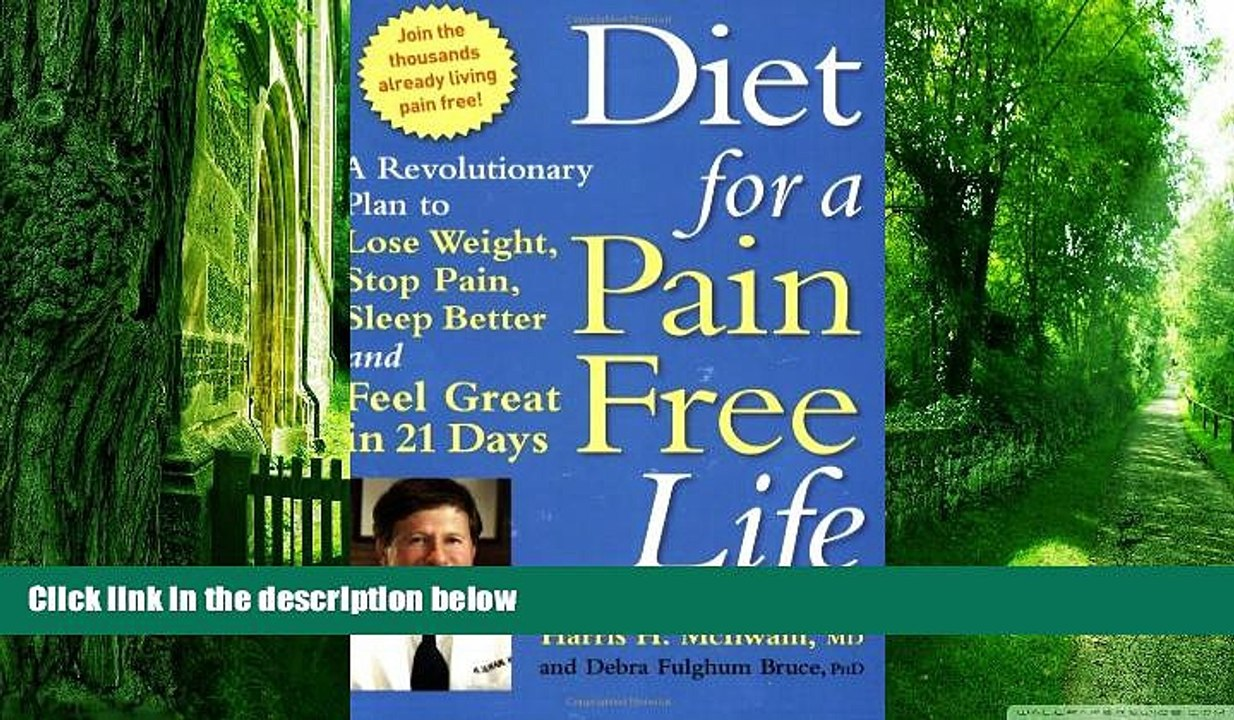 diet for pain free life
