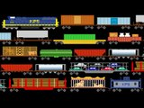 Freight Train Cars - Trains - Railway Vehicles - The Kids' Picture Show (Fun & Educational)