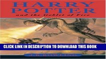 [PDF] Harry Potter and the Goblet of Fire (Harry Potter Ser., Year 4) Full Colection