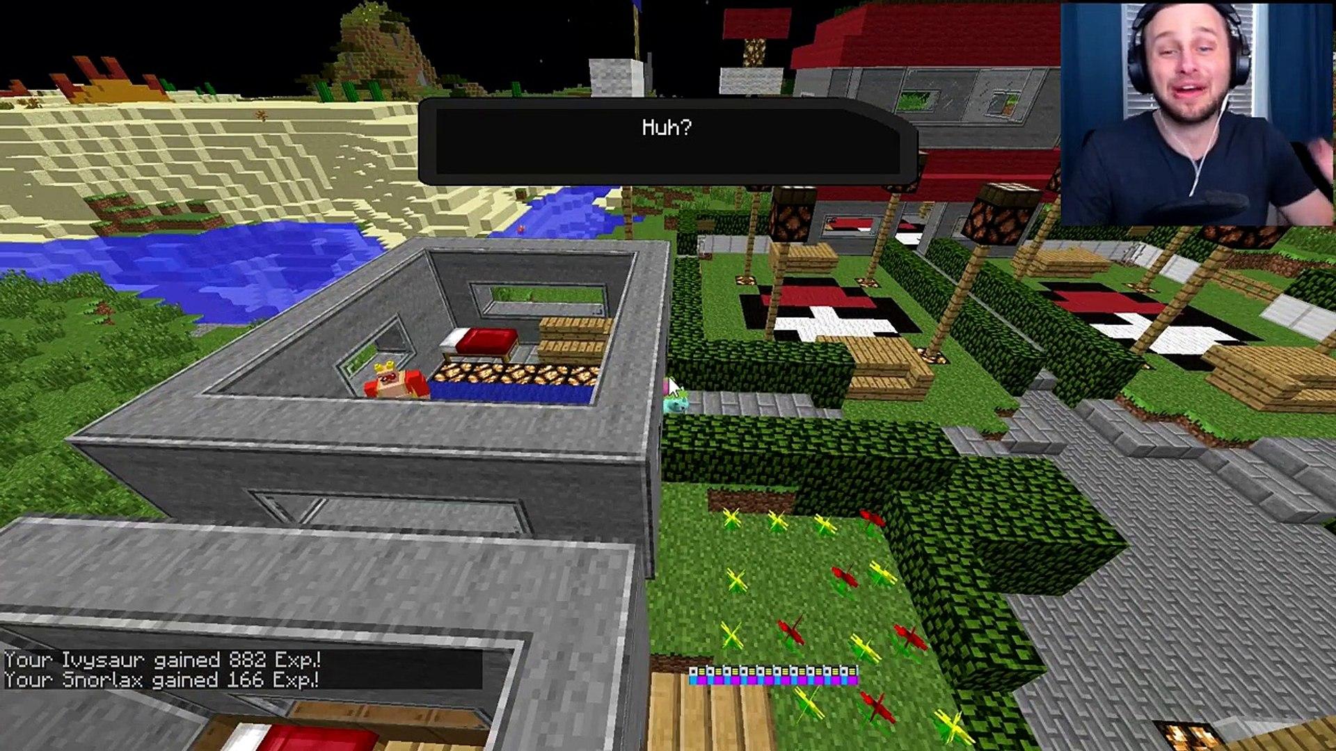 Minecraft   Pokemon   POKESTOPS AND MASTERBALL?! [7] - video