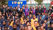 FCB Foundation and the New York education department take FutbolNet to the city
