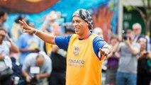 """Ronaldinho: """"Me hace feliz ver a Messi y a Neymar Jr hacer historia"""""""