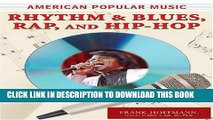 [PDF] Rhythm and Blues, Rap, and Hip-Hop (American Popular Music) Popular Online