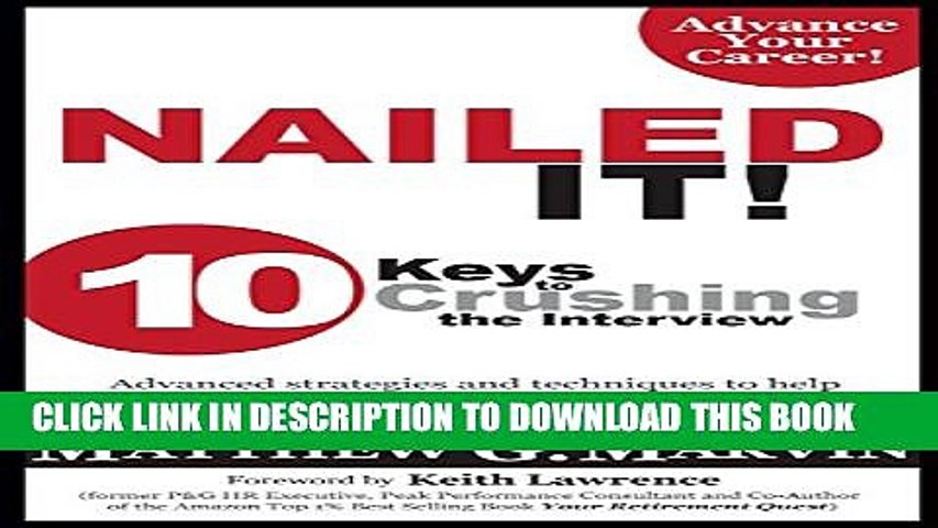 [Read PDF] NAILED IT! Download Free