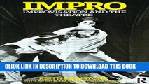 New Book Impro: Improvisation and the Theatre