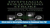 [Read] Dysphagia Following Stroke (Clinical Dysphagia) Free Books