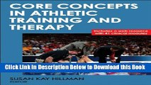 [Reads] Core Concepts in Athletic Training and Therapy With Web Resource (Athletic Training