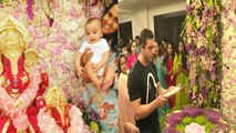 Salman Khan's Family   Ganpati Visarjan 2016   Salman Khan MISSING