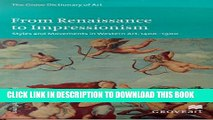 [PDF] FROM RENAISSANCE TO IMPRESSIONISM: Styles and Movements in Wester: Styles and Movements in