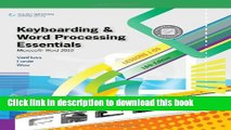 Read Keyboarding and Word Processing Essentials, Lessons 1-55: Microsoft Word 2010 (Available