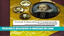 Read Great Literature Copywork: Practice Cursive Handwriting with Excerpts from the Great Books