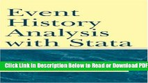 [Download] Event History Analysis With Stata Free Online