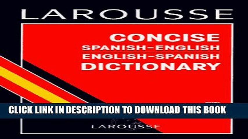 Larousse spanish dictionary download
